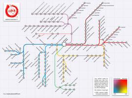 rotaneco musicmap by rotane