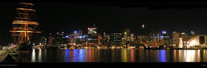 Panorama Sydney: Darling Harbr by rotane
