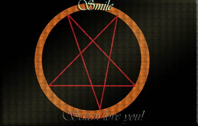 Smile,satan love you! by aazazel