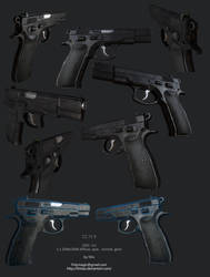 CZ75B game model by limiao