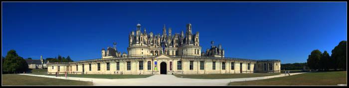 Chateau de Chambord by Yannh76