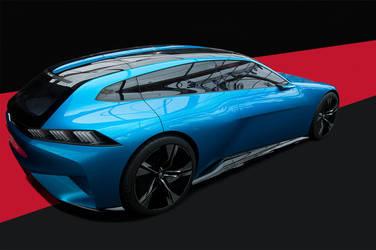 Peugeot Instinct Concept by Yannh76