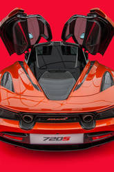 McLaren 720S by Yannh76