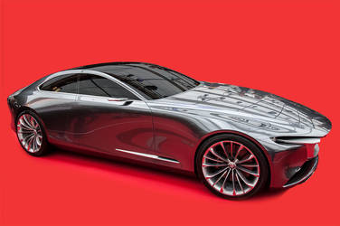 Mazda Concept Vision Coupe by Yannh76