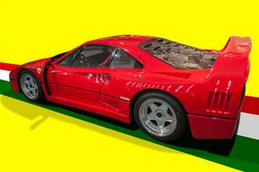 Ferrari F40 by Yannh76