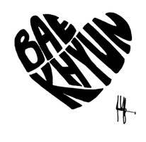 EXO-BaekHyun logo #3 by shufleur