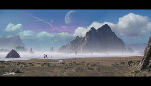 Paradise in the Mist by ZuluSplitter