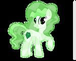 Commission: Gigapolis the Crystal Pony by IronwoodAKACleanser