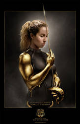 TEAM GOLD Mariel Zagunis 2 by MichaelO