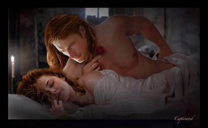 Jamie and Claire - Candlelight by Captivated2