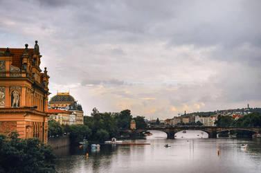 Postcard from Prague by vesaspring