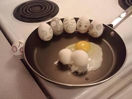 Eggs - Egg Heads by LiliNeko