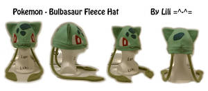 1st Gen - 001 Bulbasaur Hat by LiliNeko