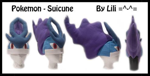 2nd Gen - Suicune Hat by LiliNeko