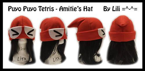 Puyo Puyo Tetris - Amitie's Hat by LiliNeko