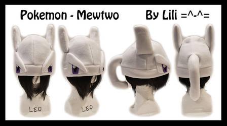 1st Gen -  Mewtwo Hat by LiliNeko