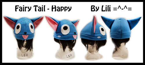 Fairy Tail - Happy Hat by LiliNeko