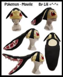 3rd Gen - Mawile Hat by LiliNeko
