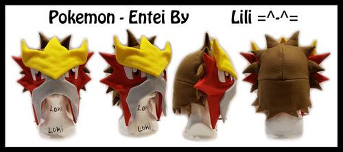 2nd Gen - Entei Hat by LiliNeko