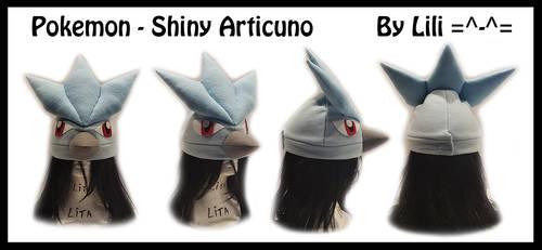 1st Gen - Shiny Articuno Hat by LiliNeko