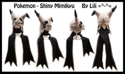 7th Gen - Shiny Mimikyu Hat and Scarf by LiliNeko