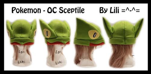 OC-Sona Sceptile Hat by LiliNeko