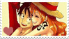 LuffyxNami - Stamp by xAssiduityx