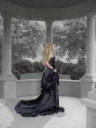 Lady in the Garden by TamaraTashante