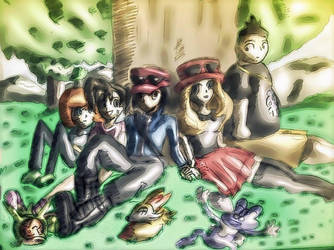 Pokemon XY friends forever by excelladon