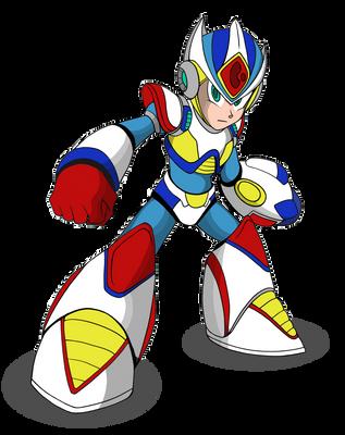 Giga Armor Megaman x2 by AM05