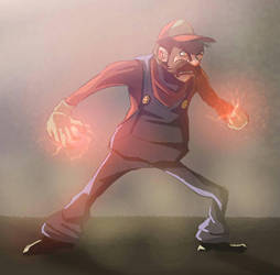mario colorsketch01 by lepeART