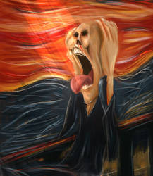 Scream by lepeART