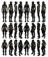 Mass Effect 3, Nemesis Reference. by Troodon80