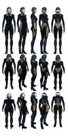 Mass Effect 3, EDI Reference. by Troodon80