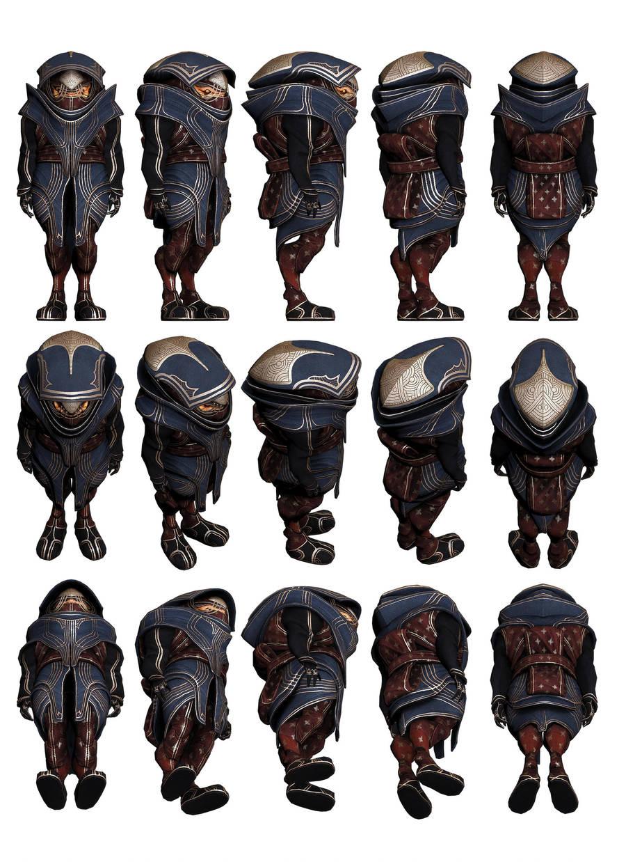 Mass Effect 3, Urdnot -Eve- Bakara Reference. by Troodon80