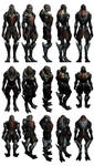 Mass Effect 3, Nyreen Reference. by Troodon80