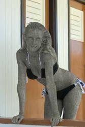 The sister statue by natashystone