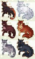Cat adopts! (CLOSED) by shinotori