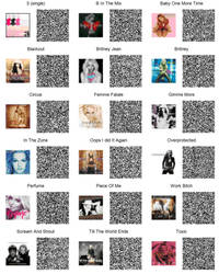 Britney Spears CD/Singles Patterns for ACNL by toxicsquall