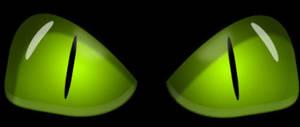 Green eyes by rontz