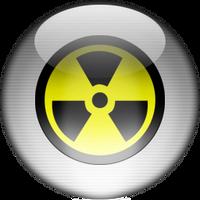 Silver Aqua Danger Icon by rontz