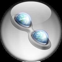 Silver Aqua Trillian Icon by rontz