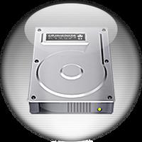 Silver Aqua My Computer Icon by rontz