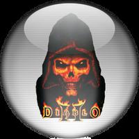 Silver Aqua DiabloII Icon by rontz