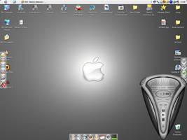 Desktop number 2 - Apple Style by rontz