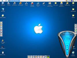 Aqua Desktop - Blue by rontz