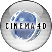 Silver Aqua Cinema 4D Icon by rontz
