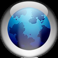 Silver Aqua DeerParkAlpha Icon by rontz