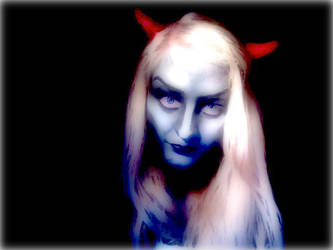 Demoness Face Paint by ApertureEyes