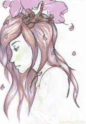 Cherry Blossom Girl by ApertureEyes